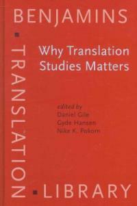 Why translation studies matters