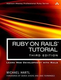 Ruby on rails tutorial : learn web development with rails 3rd ed