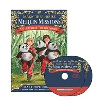 Merlin Mission #20 : A Perfect Time for Pandas (Paperback + CD