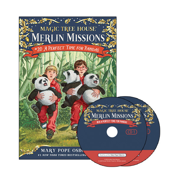Merlin Mission #20 : A Perfect Time for Pandas (Paperback + CD )