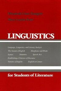 Linguistics for students of literature