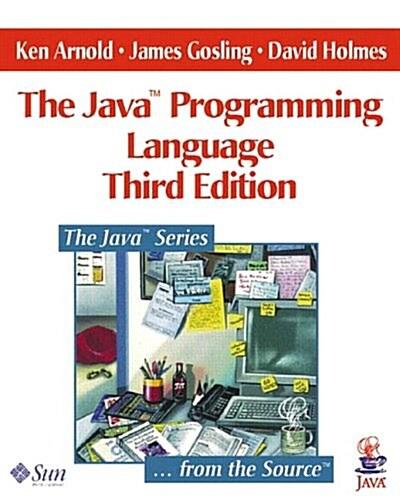 [중고] Java(TM) Programming Language, The (3rd Edition) (The Java Series) (Paperback, 3rd)