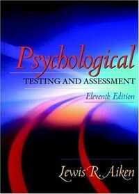 Psychological testing and assessment 11th ed
