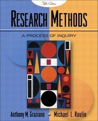 Research methods : a process of inquiry 5th ed