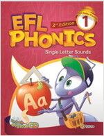 EFL Phonics 1 (3판, Student Book + Workbook + 2 CD) (Paperback, 3rd Edition)
