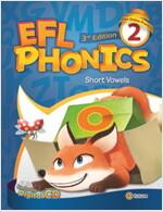 EFL Phonics 2 (3판, Student Book + Workbook + 2 CD) (Paperback, 3rd Edition)