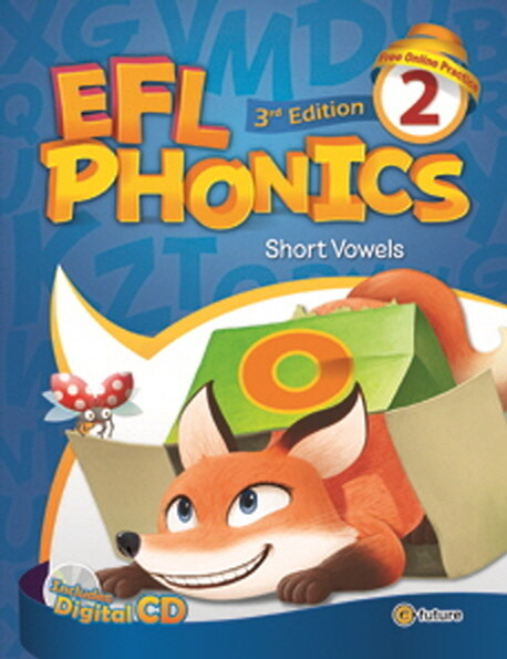 (3판)EFL Phonics 2 (Student Book + Workbook + CD 2장, 3rd Edition)