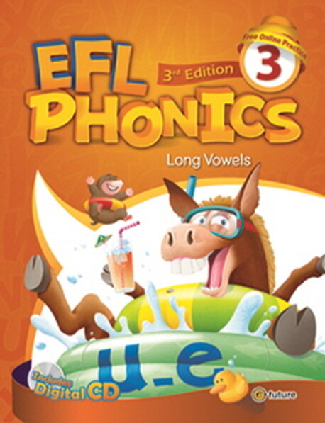 (3판)EFL Phonics 3 (Student Book + Workbook + CD 2장, 3rd Edition)