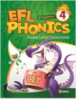 (3판)EFL Phonics 4 (Student Book + Workbook + CD 2장, 3rd Edition)