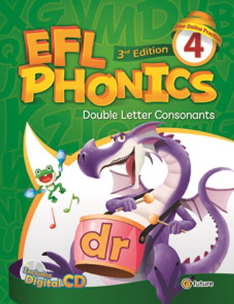 (3판)EFL Phonics 4 (Student Book + Workbook + CD 2장, 3rd Edition)