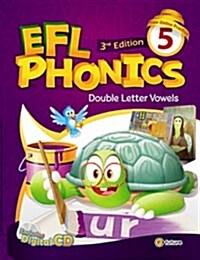 (3판)EFL Phonics 5 (Student Book + Workbook + CD 2장, 3rd Edition)