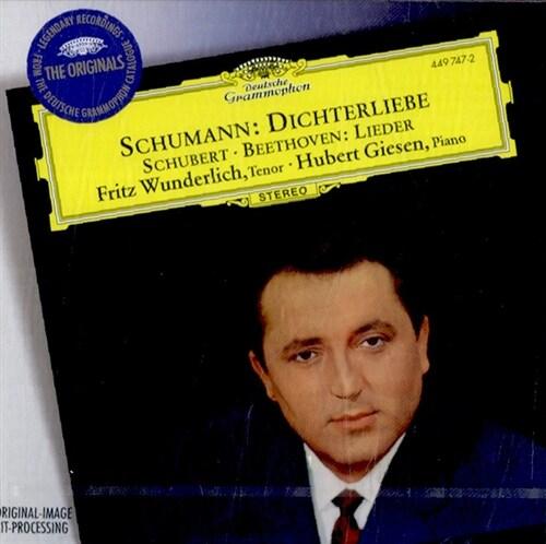 [수입] 슈만 : 시인의 사랑 Op.48 (+베토벤과 슈베르트 가곡들)
