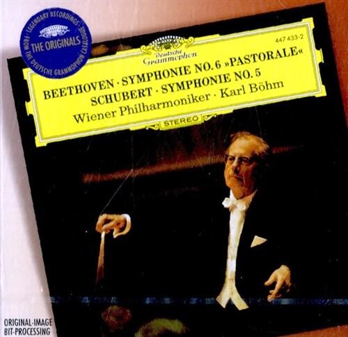 [수입] 베토벤 : 교향곡 6번 전원 & 슈베르트 : 교향곡 5번