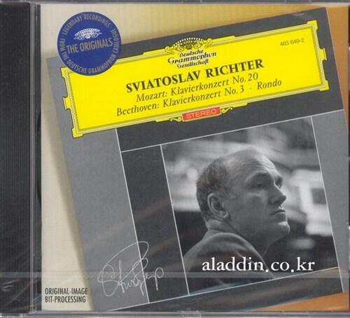 [수입] 모차르트 : 피아노 협주곡 20번 & 베토벤 : 피아노 협주곡 3번