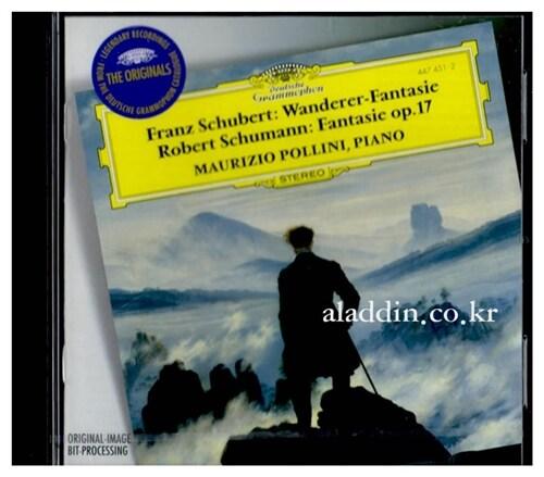 [수입] 슈베르트 : 방랑자 환상곡 & 슈만 : 환상곡 Op.17