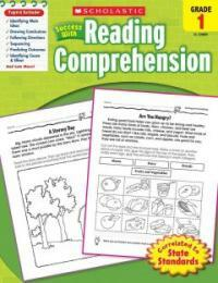 Scholastic Success with Reading Comprehension, Grades 1 (Paperback)