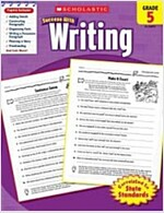 Scholastic Success with Writing, Grade 5 (Paperback)