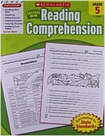 Scholastic Success with Reading Comprehension, Grade 5 (Paperback)