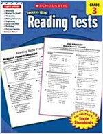 Reading Tests, Grade 3 (Paperback)