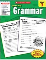 Scholastic Success With: Grammar, Grade 3 (Paperback)
