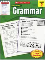 Scholastic Success with Grammar Grade 2 (Paperback)