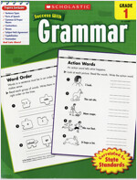 Scholastic Success With Grammar Grade 1 (Paperback)