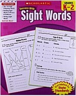 Scholastic Success with Sight Words, Grades K-2 (Paperback)