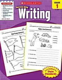 Scholastic Success with Writing, Grade 1 (Paperback)