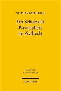 Der Schutz der Privatsphäre im Zivilrecht : eine historisch-vergleichende Untersuchung zum deutschen, französischen und englischen Recht vom ius commune bis heute