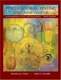 Psychological testing and assessment : an introduction to tests and measurement 6th ed