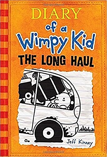Diary of a Wimpy Kid #9: The Long Haul (Hardcover)