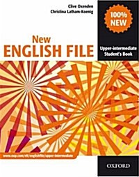 New English File: Upper-intermediate: Students Book : Six-level General English Course for Adults (Paperback)