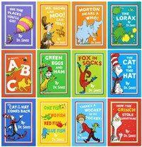 닥터수스 Dr. Seuss 베스트 12종 세트 + 가방 (Paperback 12권)