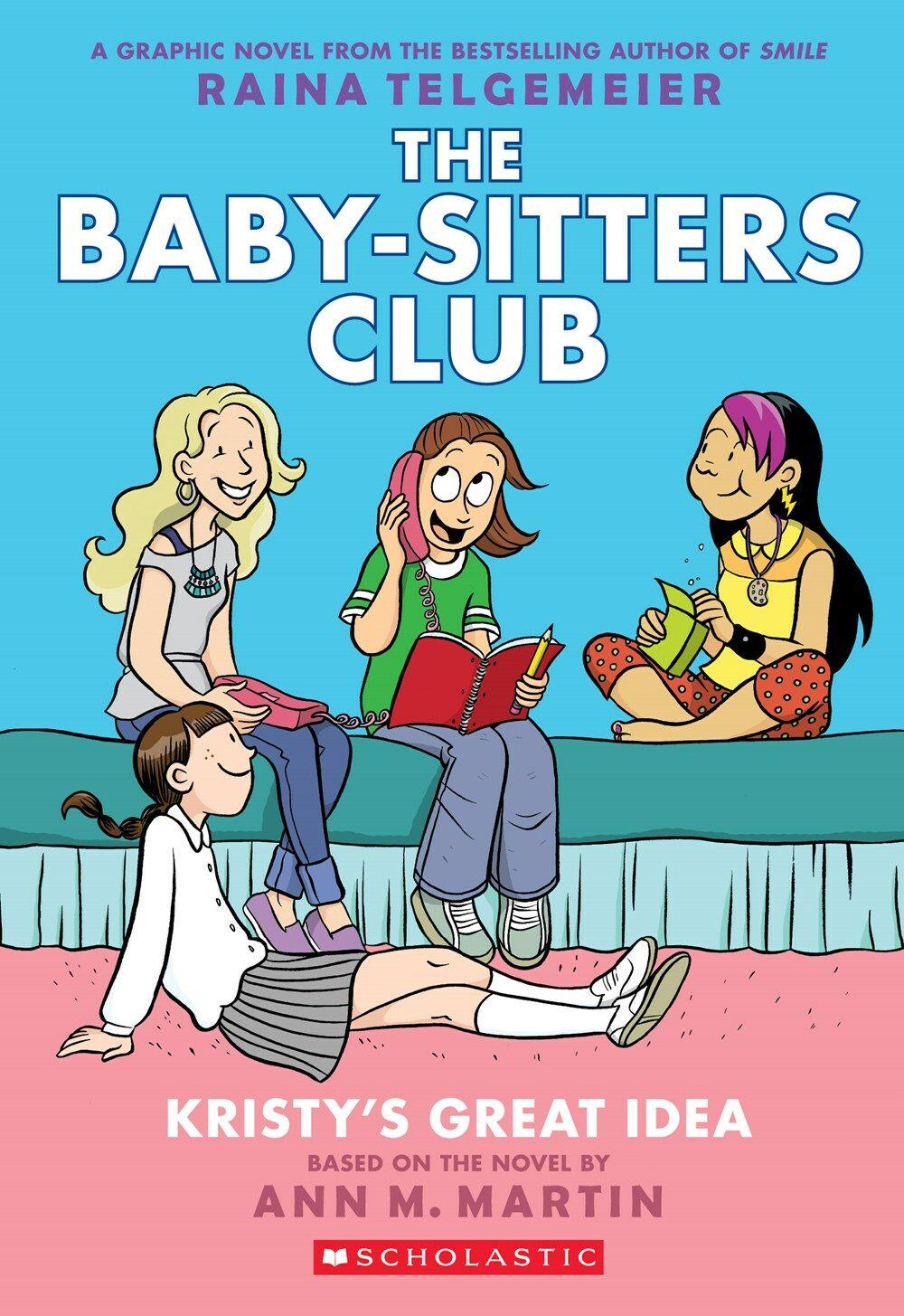 [중고] The Baby-Sitters Club #1 : Kristys Great Idea (Paperback)