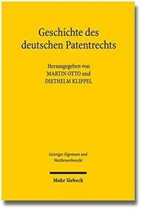 Geschichte des deutschen Patentrechts
