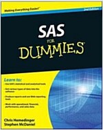 SAS For Dummies (Paperback, 2nd Edition)