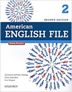 American English File 2 : Student Book with Online Practice (2nd Edition)