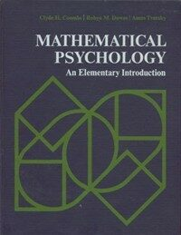 Mathematical psychology : an elementary introduction