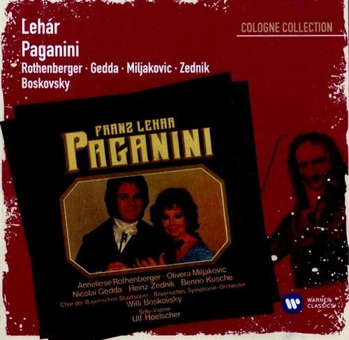 [수입] 레하르 : 파가니니 [2CD]