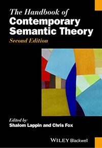 The Handbook of Contemporary semantic theory 2nd ed
