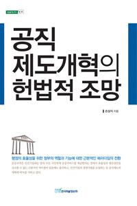 공직 제도개혁의 헌법적 조망 : 행정의 효율성을 위한 정부의 역할과 기능에 대한 근본적인 패러다임의 전환