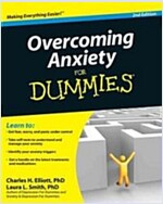 Overcoming Anxiety For Dummies (Paperback, 2 Revised edition)