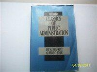 Classics of public administration / 2nd ed