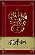 Harry Potter Gryffindor Hardcover Ruled Journal (Hardcover)