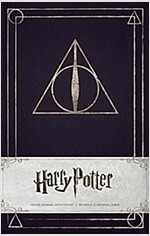 Harry Potter Deathly Hallows Hardcover Ruled Journal (Hardcover)