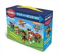 Step Into Reading : Paw Patrol Phonics Boxed Set (Paperback 12권)