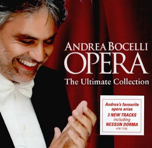 [수입] 안드레아 보첼리 - 오페라: 얼티메이트 컬렉션