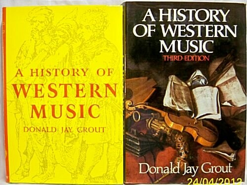 A history of western music (Hardcover, 3rd)