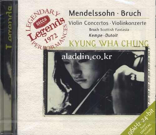 [수입] 멘델스존 & 브루흐 : 바이올린 협주곡