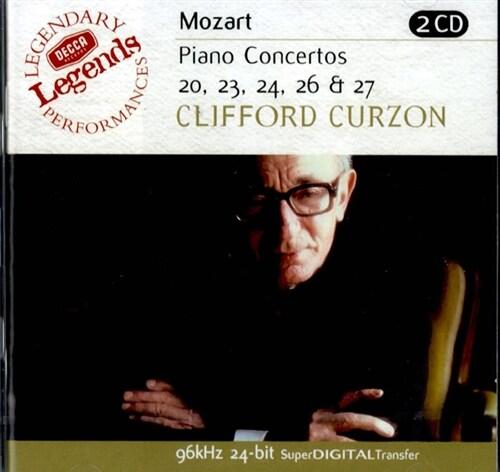 [수입] 모차르트 : 피아노 협주곡 20, 23, 24, 26 & 27번 [2CD]